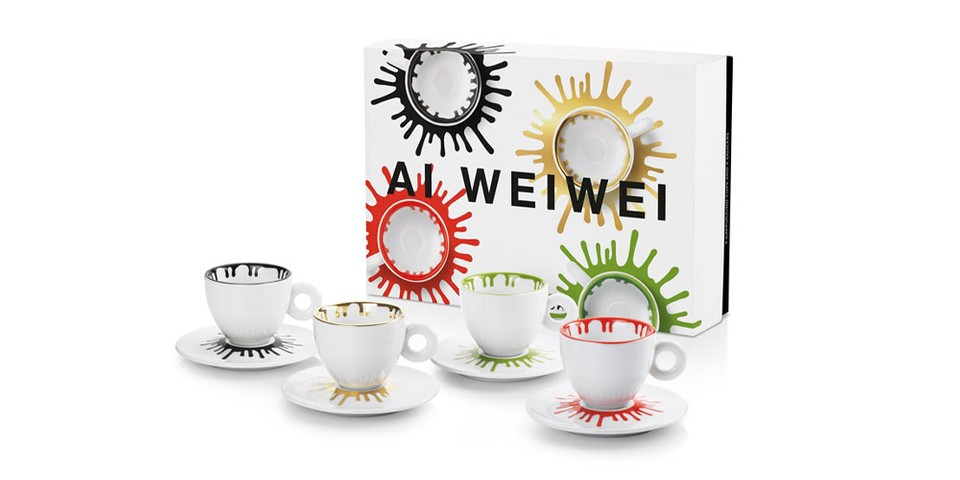 illycaffè Taps Ai Weiwei for Art-Inspired Coffee Cup Collaboration
