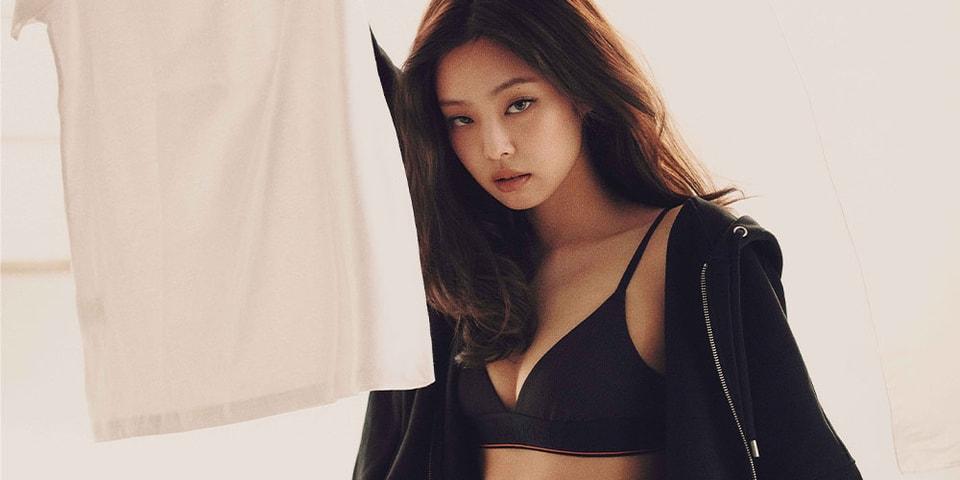 BLACKPINK's Jennie Stuns in Heron Preston x Calvin Klein Underwear