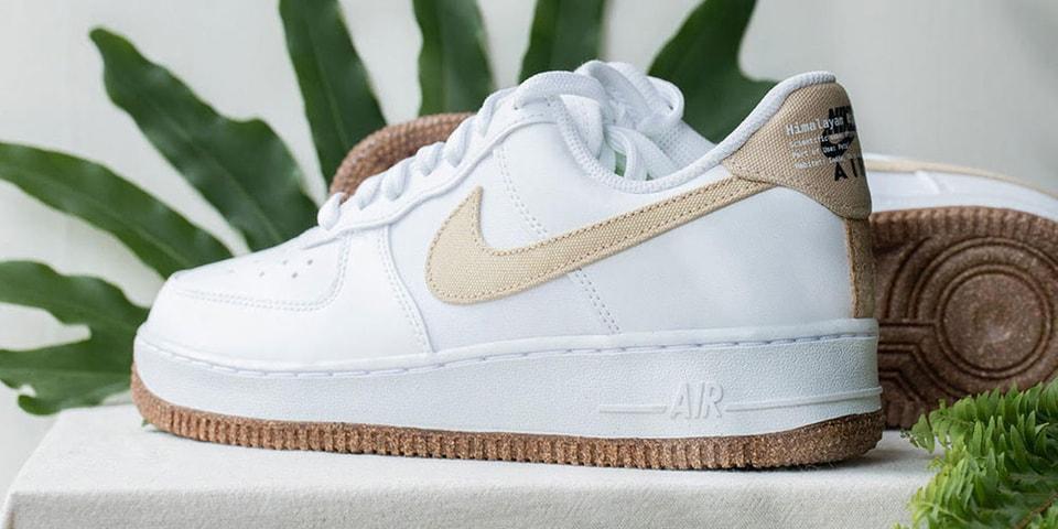 "Nike Drops Eco-Friendly Air Force 1 Made Using ""Himalayan Rhubarb"""