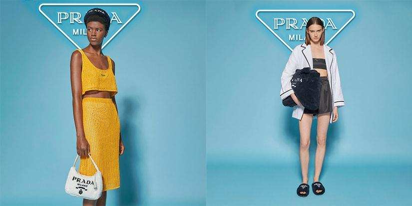 Prada Brings the Beach Indoors in New Pop-Up