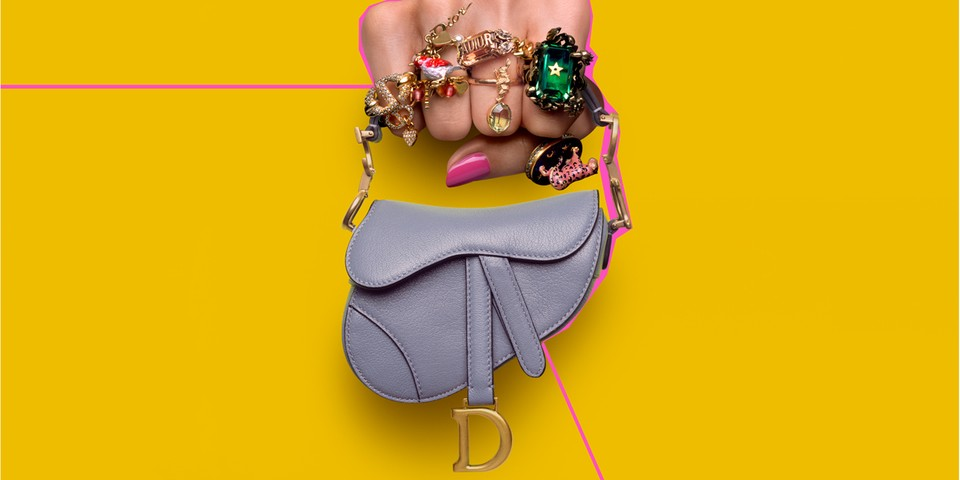 Dior's Micro Saddle Bag Only Fits the Essentials