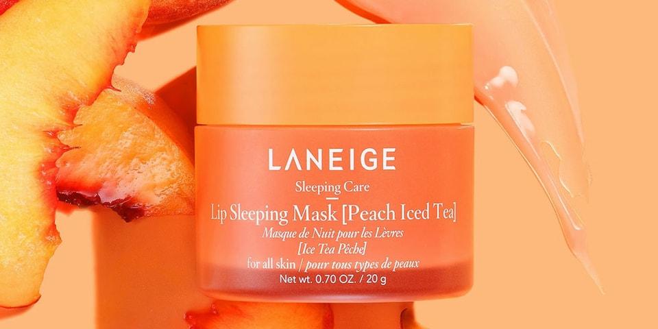 "Laneige's Popular Lip Sleeping Mask Arrives in ""Peach Iced Tea"""