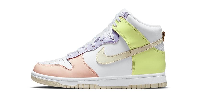 "Nike's Latest Dunk High Receives a ""Lemon Twist"""