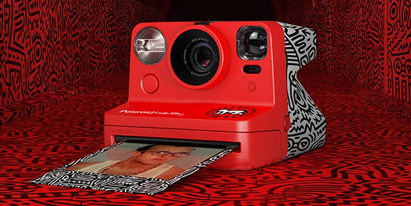 Document Your Summer Memories With Keith Haring x Polaroid's Instant Camera
