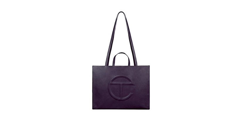 """Telfar Adds """"Eggplant"""" Colorway to Its Shopping Bag Lineup"""