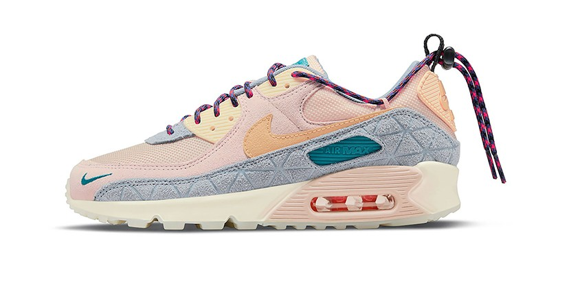 Nike's Air Max 90 SE Gets Dressed in a Pastel Hiking-Inspired Colorway