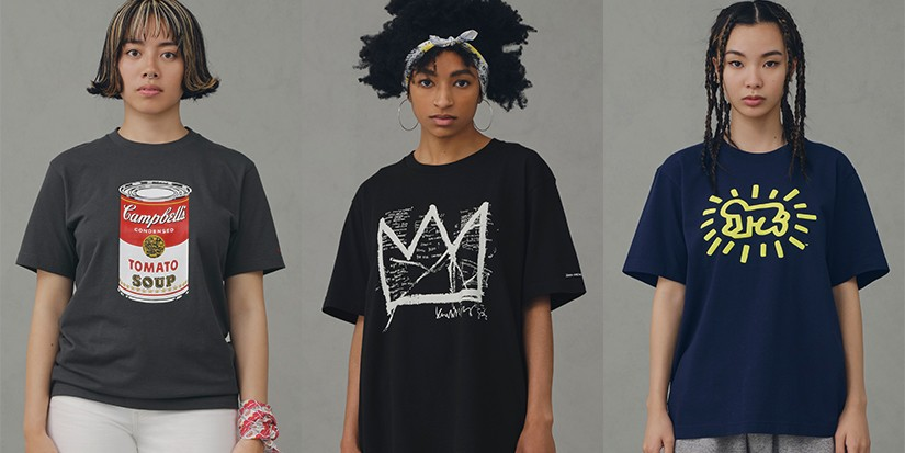 UNIQLO UT's New Tees Celebrate Andy Warhol, Jean-Michel Basquiat and Keith Haring's Art