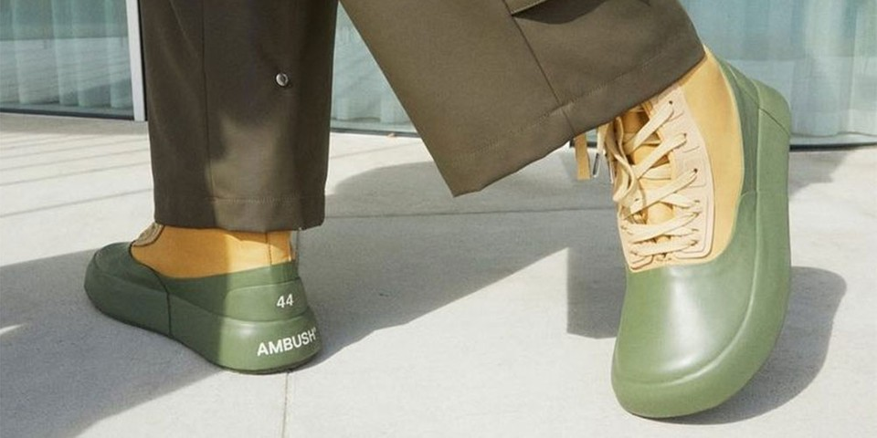 AMBUSH to Release Leather Mix Hi-Top Sneakers for Its FW21 Collection