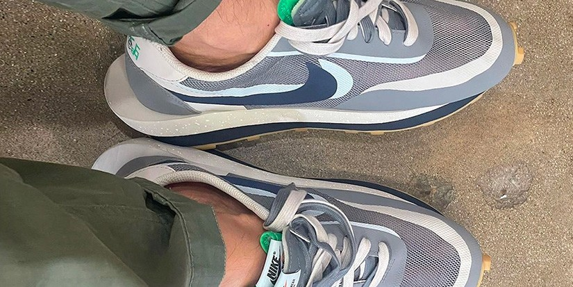 "CLOT x sacai x Nike's Gray LDWaffle ""K.O.D. 2"" Is Dropping Soon"