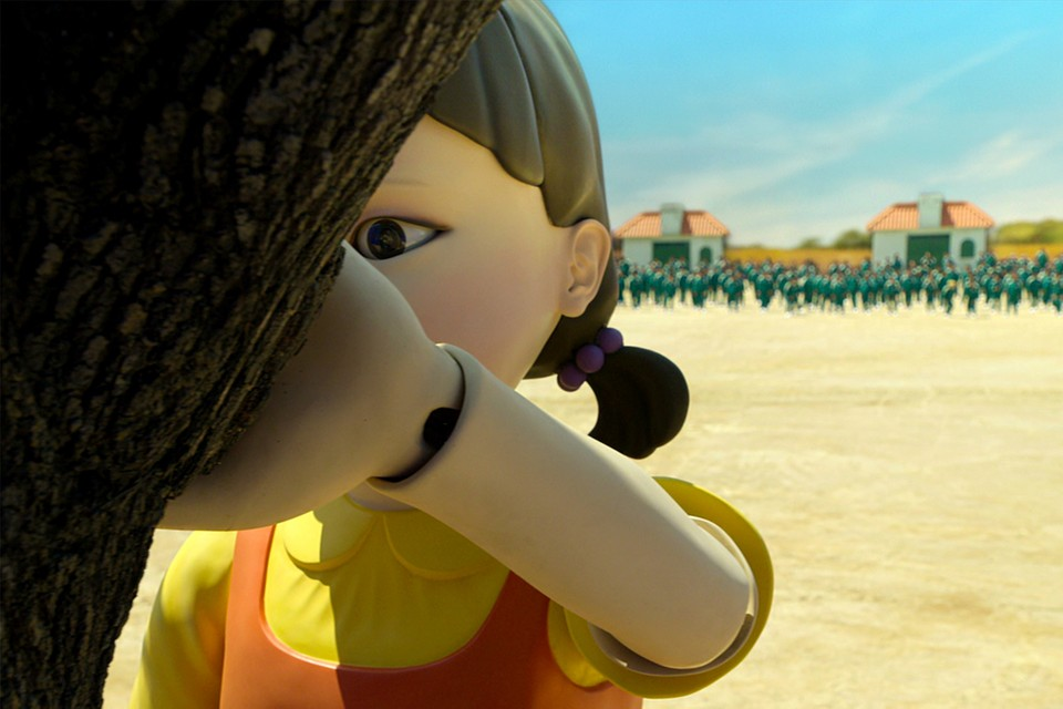 Netflix Places 'Squid Game' Doll at Manila Mall   HYPEBAE