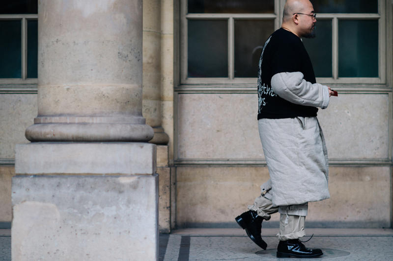 Paris Fashion Week Streetsnaps Paris Fashion Week 2017