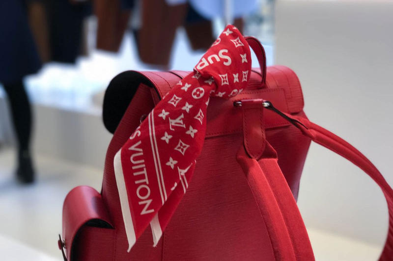 Supreme Louis VuittonParis Men's Fashion Week 2017