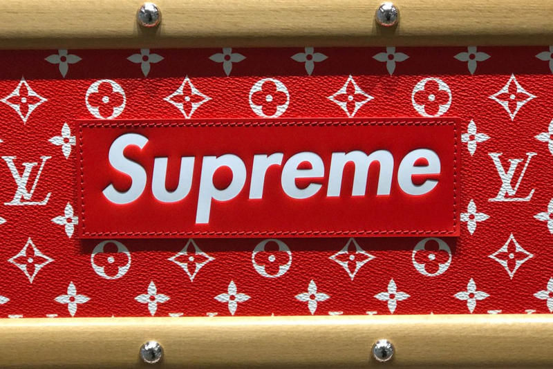Supreme Louis VuittonParis Men's Fashion Week 2017