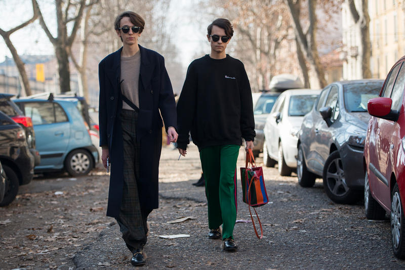 Milan Fashion Week 2017 Streetsnaps