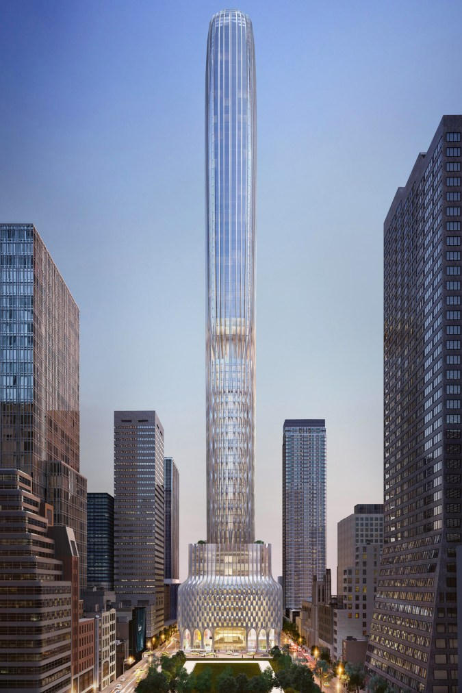 Zaha Hadid Architects 666Fifth Avenue ザハハディドアーキテクツ ニューヨーク ニューヨークシティー NYC New York City