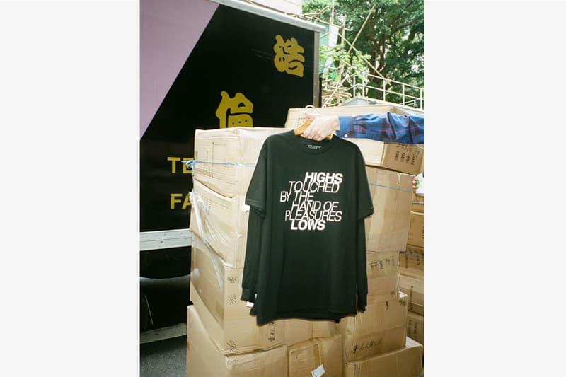 Highs and Lows x PLEASURES 2017年春夏Tシャツコレクション