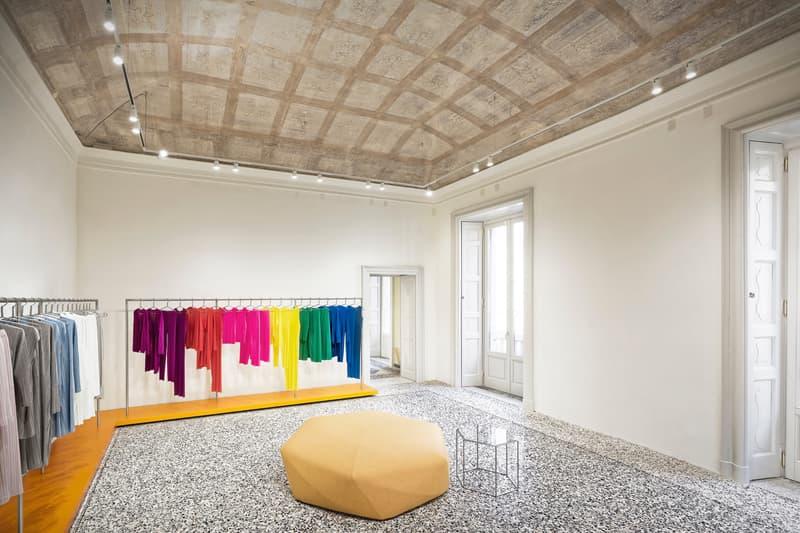 吉岡徳仁デザインによる イタリア初 ISSEY MIYAKE フラッグシップストア