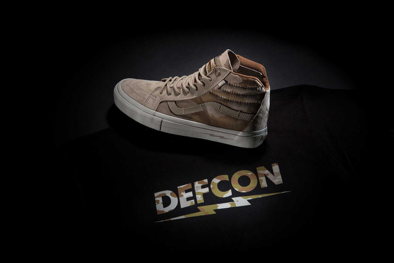 DEFCON と Vans が再びタッグを組み Sk8-Hi Notchback Pro を復刻