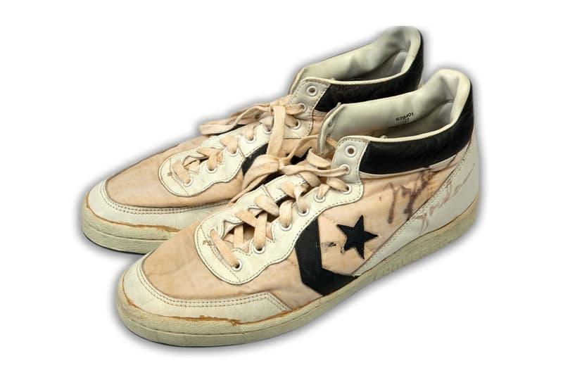 マイケル・ジョーダンが '84年LA五輪で履いていた Converse がオークションに登場:落札してみる?