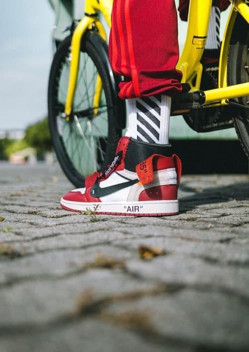 OFF-WHITE™ x Air Jordan 1 の着用画像が遂に登場