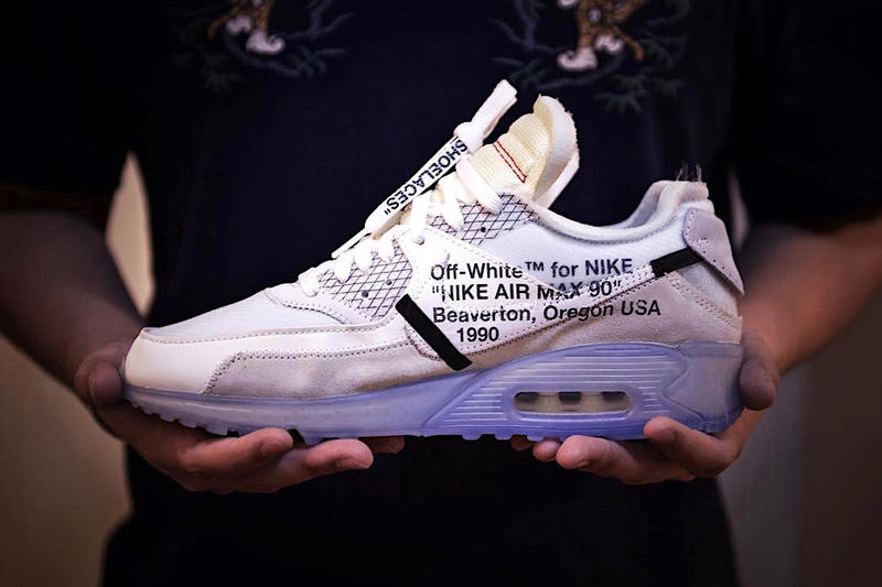 OFF-WHITE™ x Nike Air Max 90 Ice の最新画像