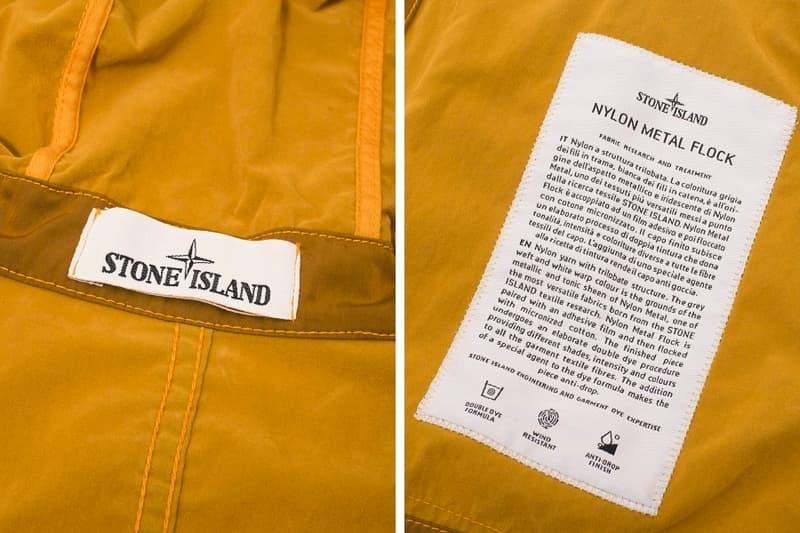 Stone Island からウォータープルーフの高機能ナイロンメタルジャケット登場
