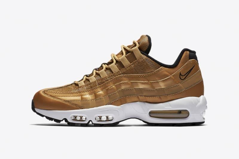 "Nike より ""Metallic Gold"" 仕様の Air Max フットウェアの数々が登場"