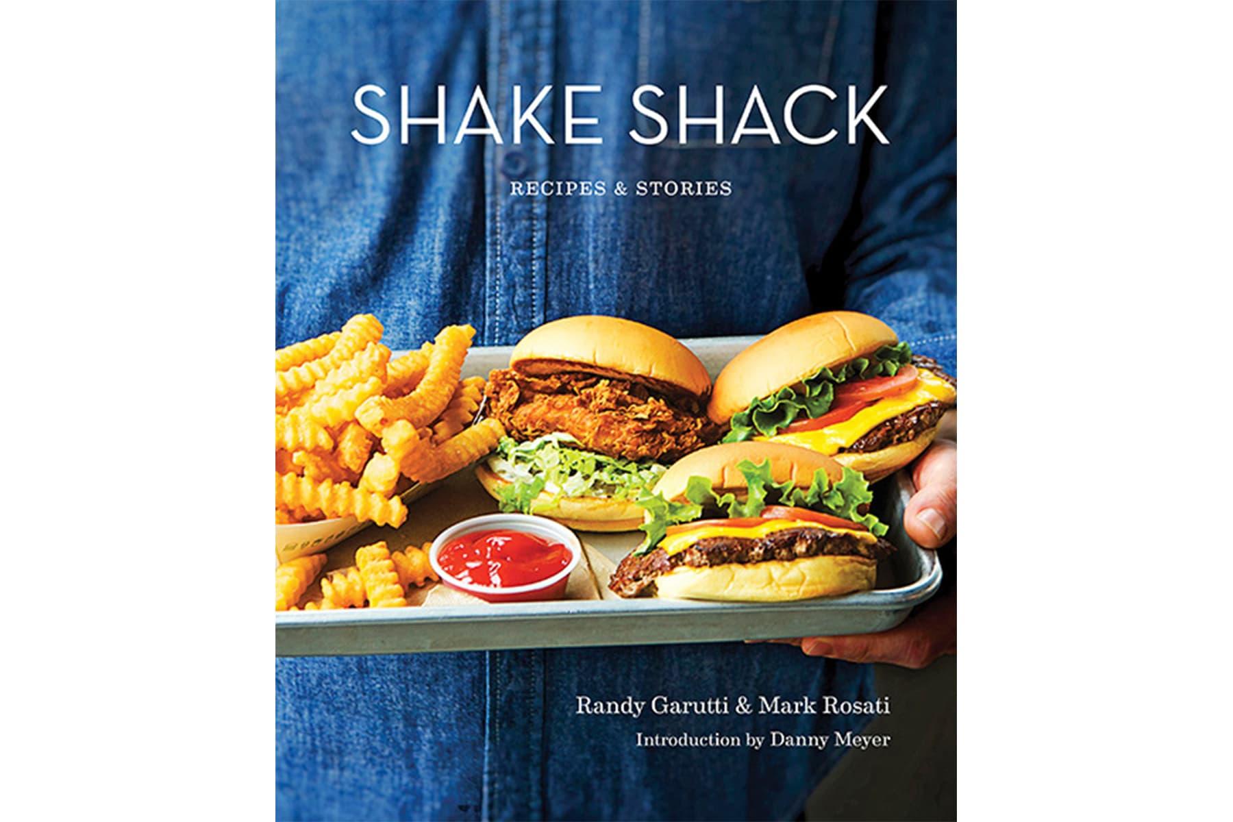 人気バーガー店の Shake Shack よりグルメな大冊『SHAKE SHACK: RECIPES & STORIES』が登場