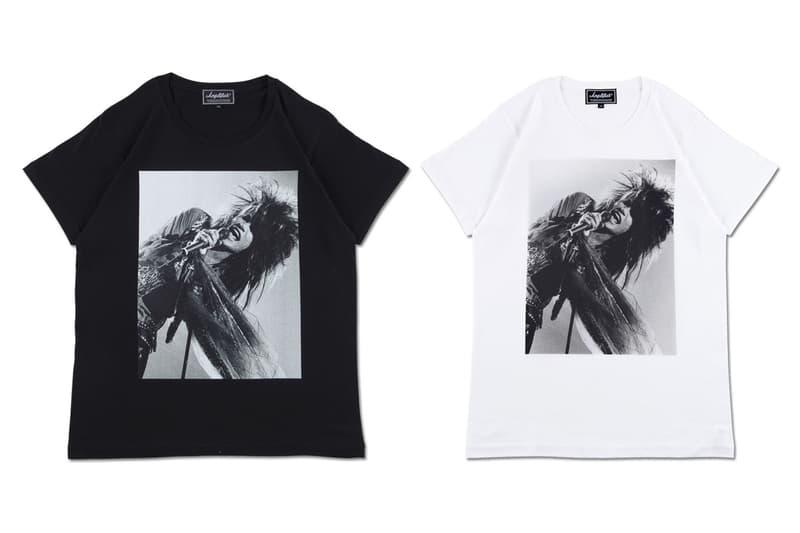 Amplifier より伝説のロックバンド ZIGGY のフォトTシャツ3型が登場