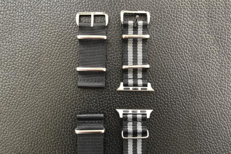 藤原ヒロシの手がける fragment design が Apple Watch 対応の NATO ストラップをリリースか フラグメント デザイン アップルウォッチ