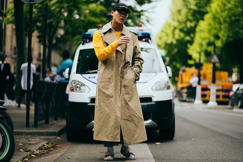 Streetsnaps: Paris Fashion Week Day 5 ストリートスナップ パリ ファッションウィーク パリコレ パリコレクション Hypebeast ハイプビースト