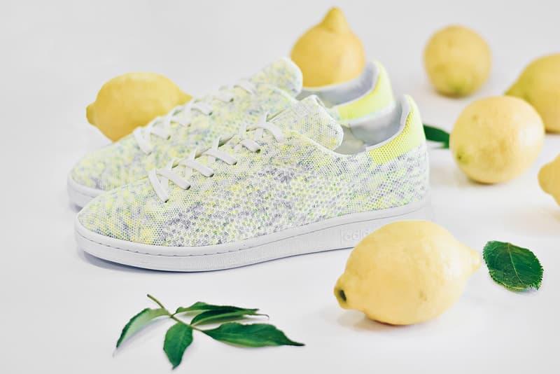 "adidas Originals  Primeknit  Stan Smith ""Solar Yellow"""