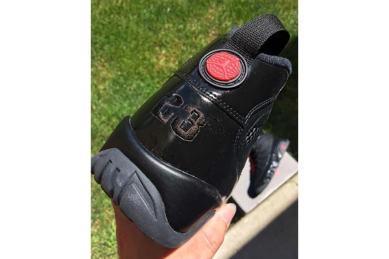"""人気カラーリング """"Bred"""" が落とし込まれた Air Jordan 9 のビジュアルがリーク"""