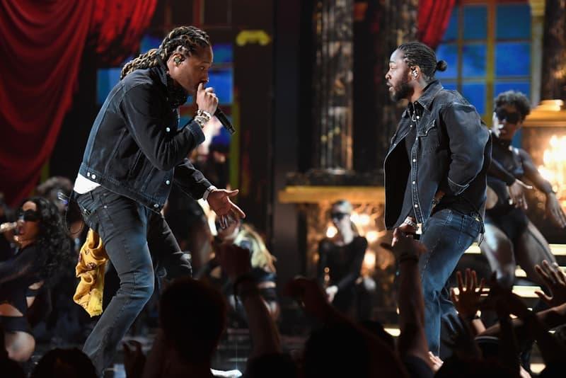 ケンドリック・ラマーもフューチャーとサプライズ登場した BETアワード2017 Kendrick Lamar と Future もサプライズ登場した BET アワード 2017 Migos、A$AP Rocky、Lil Wayne、DJ Khaled、Post Malone、French Montanaといった面々のパフォーマンス映像をチェック