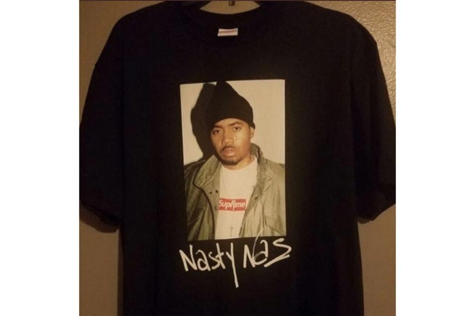 Supreme x Nas コラボTシャツの最終デザインを捉えた画像が登場?