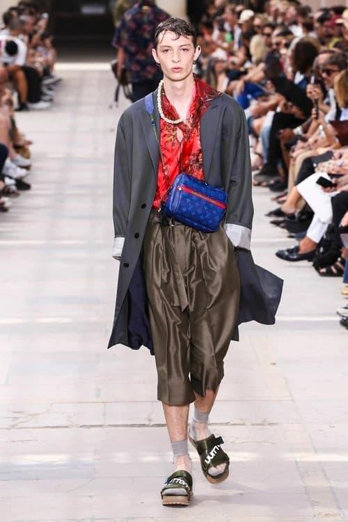 見る者をトロピカルな世界へと誘った Louis Vuitton の2018年春夏コレクション 色鮮やかな開襟シャツ、豊富なラゲージ&アクセサリーなど、見どころ満載のランウェイルック