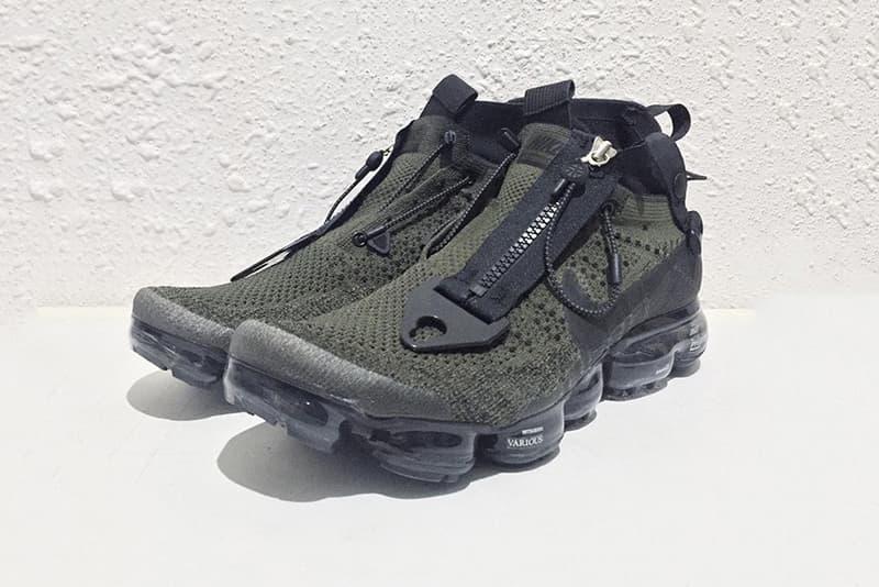 Nike x ACRONYM コラボ Air VaporMax とされる1足のビジュアルがリーク