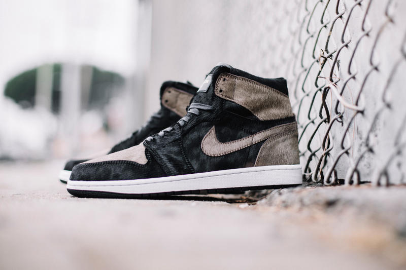 "The Shoe Surgeon  ポニーへアー  Air Jordan 1 ""Shadow"""