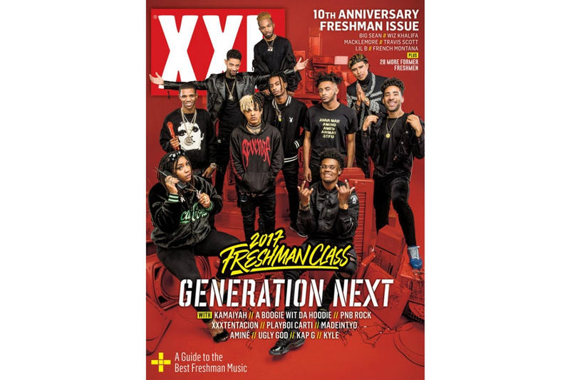 XXL 毎年恒例の注目の新人特集 2017 Freshman Class が発表