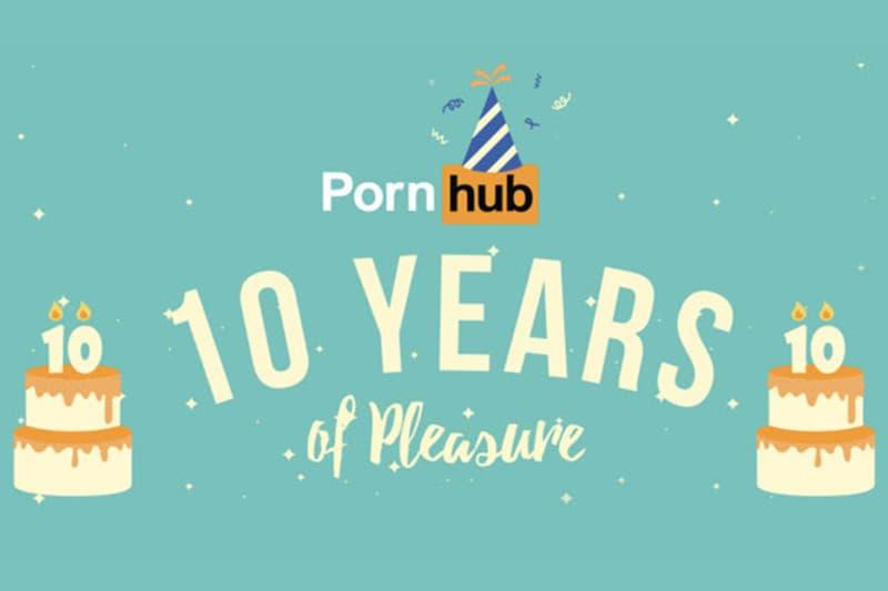 世界最大手 ポルノ 配信 サイト Pornhub ポーンハブ 過去 10年 分 データ ポルノハブ
