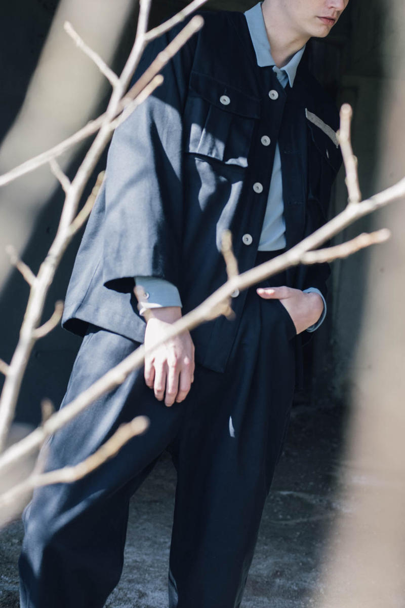 シルエット美と素材へのこだわりは国内ブランドならでは 90年代ストリートと00年以降のモードを融合した prasthana 2017年秋冬ルックブック プラスターナ