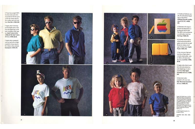 Apple が1986年に発表したオリジナルアパレル&アクセサリーコレクションをプレイバック なんとあの〈Tiffany〉ともコラボレーションアイテムを展開するという力の入れ具合 アップル クパチーノ