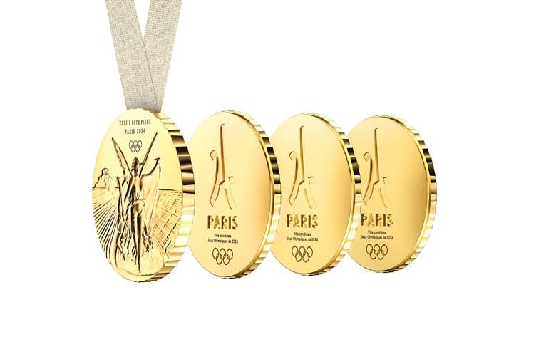 Philippe Starck の愛する人にシェアできる2024年パリ五輪メダル paris olympics medal