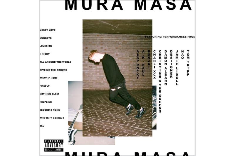 Mura Masa がA$AP Rocky や Desiigner らをゲストに迎えたセルフタイトルアルバム