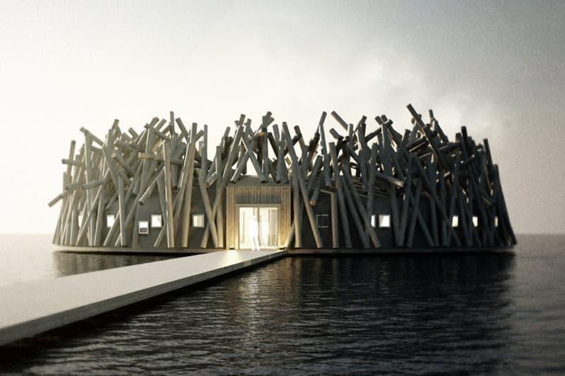 北欧の水面に浮かぶスパ・ホテル『Arctic Bath』で白夜やオーロラと過ごす旅へ