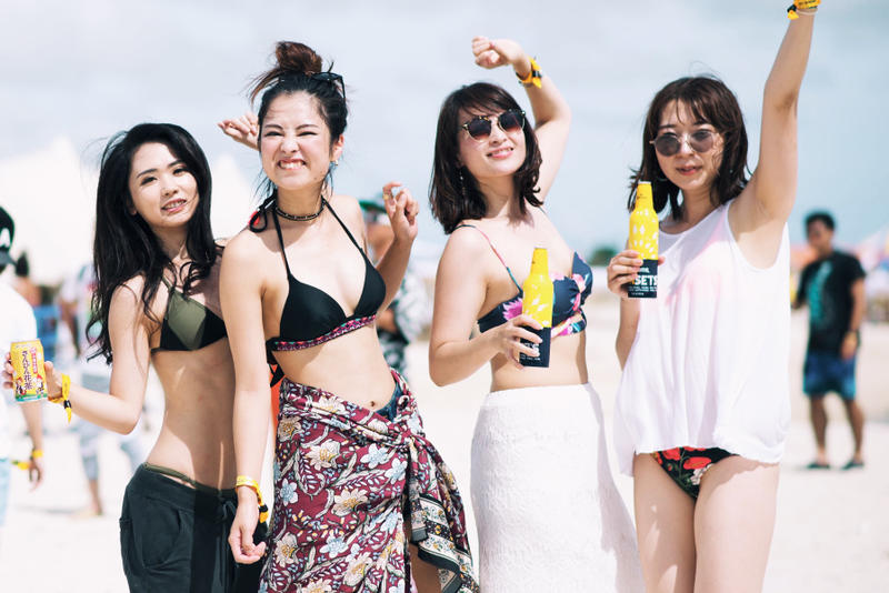 Girls Snaps: CORONA SUNSET FESTIVAL 2017浅野美奈弥 Baby Kiy Una roxygirls