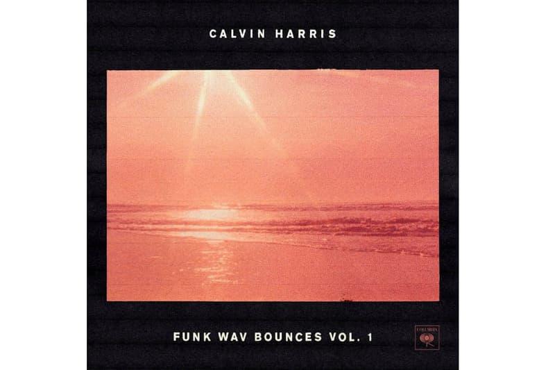 Calvin Harris 最新アルバム Funk Wav Bounces Vol. 1