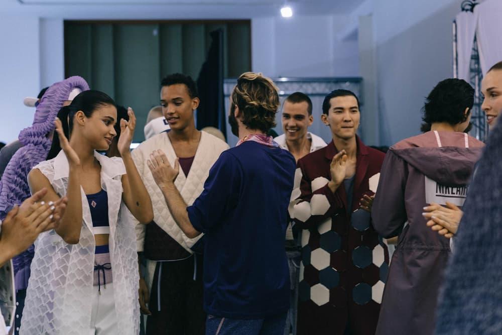 NikeLab とのコラボアイテムが並ぶ PIGALLE 2018年春夏コレクションショーの舞台裏にクローズアップ ピガール