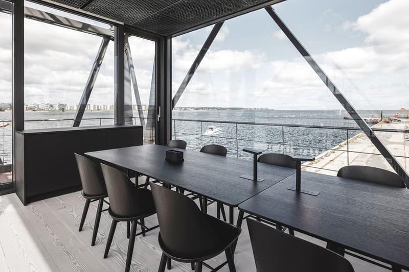 コペンハーゲンの石炭用クレーンがラグジュアリーなホテルに変身