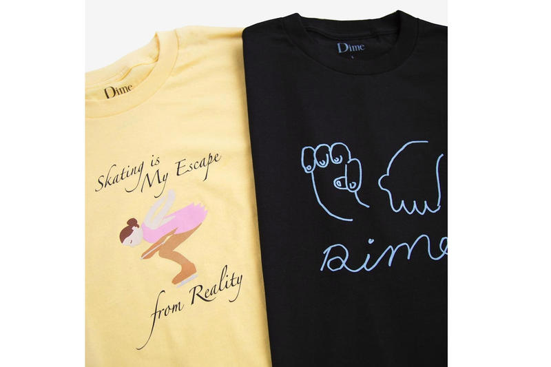 Dime よりマジックとスケートがテーマの脱力系新作Tシャツが登場